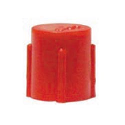 CD11 Threaded Red Polyethylene Caplug