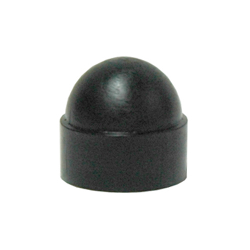 1/4-20 Black Hex Dome Cap Nut