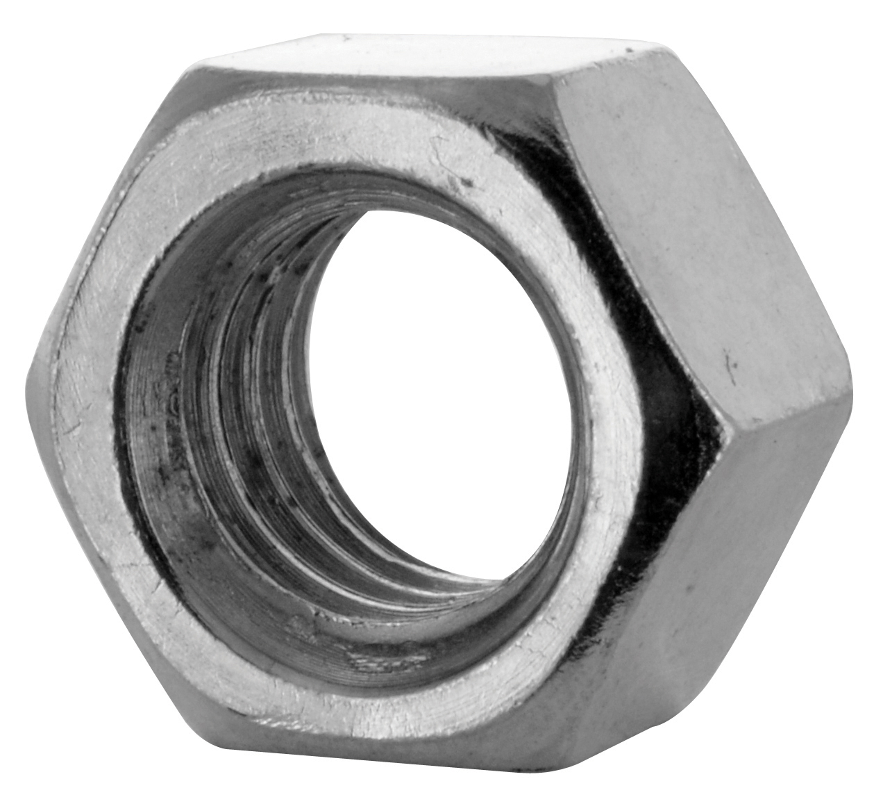 1/2-13 Coarse Zinc Grade A Left Handed Finished Hex Nut
