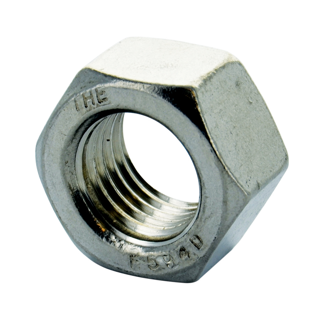 #10-24 Coarse 18-8 Stainless Steel Machine Screw Hex Nut