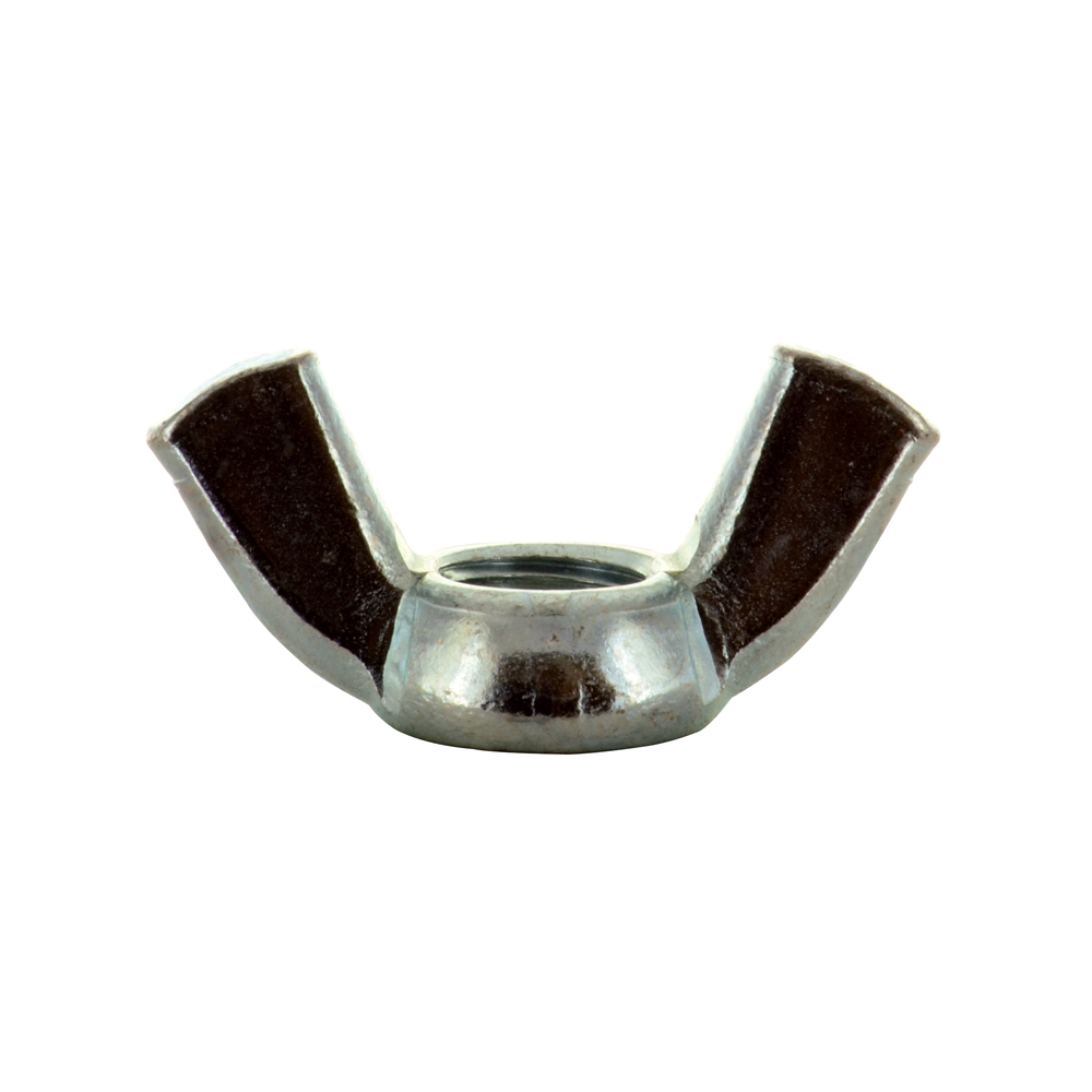 #10-32 Zinc Plated Grade 2 Wing Nut