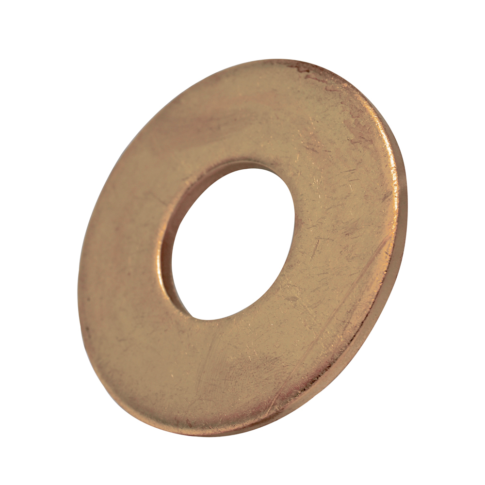 #10 Plain Silicon Bronze Flat Washer