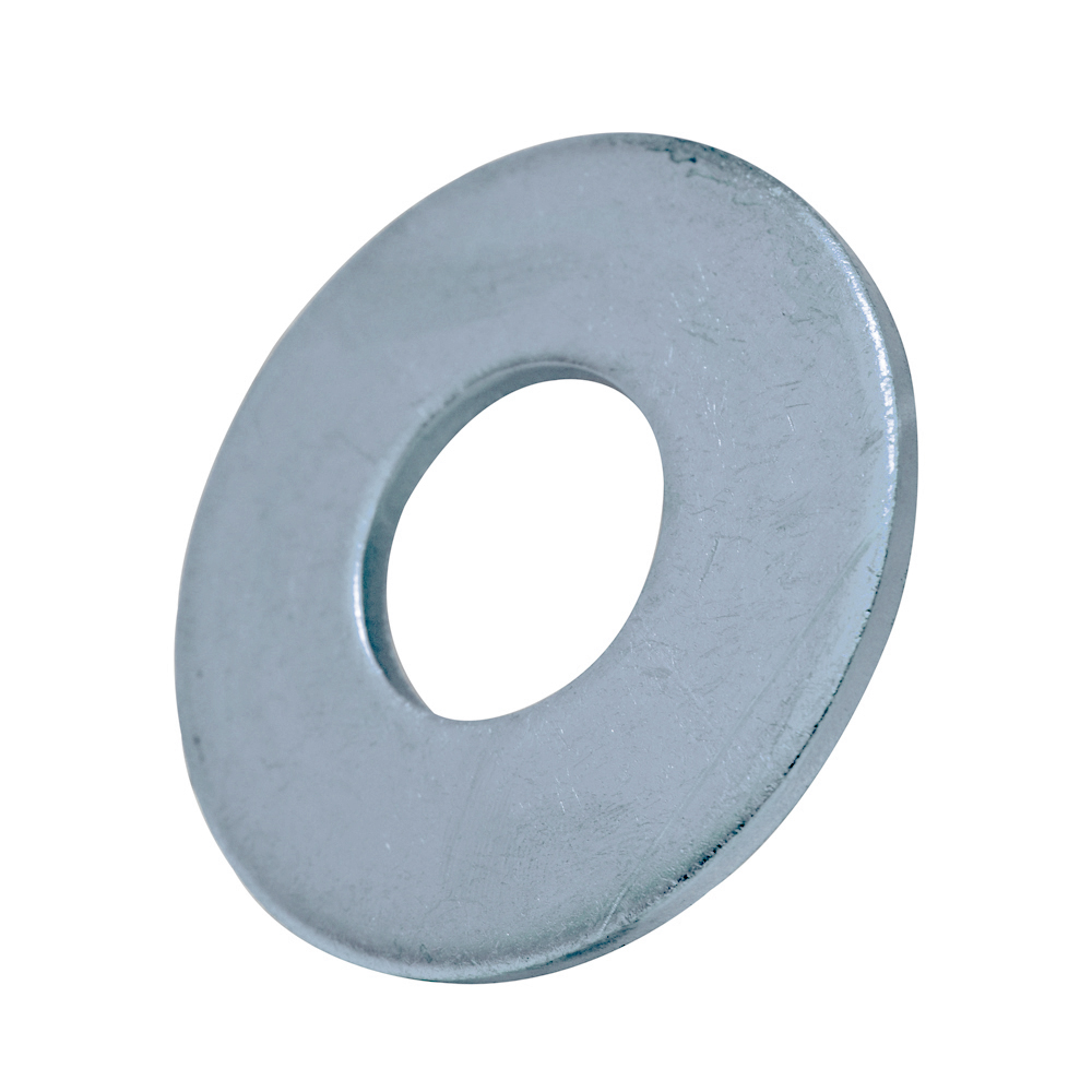 #10 Plain 316 Stainless Steel Flat Washer - Pack of 500
