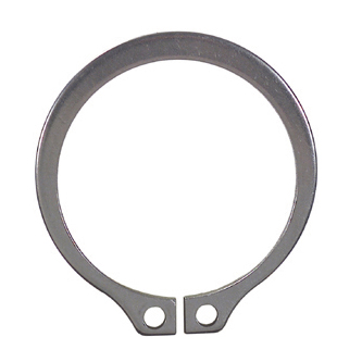 1 Inch Plain Stainless Steel External Snap Ring