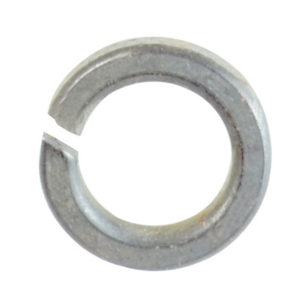 #10 Zinc Plated Steel Split Lock Washer
