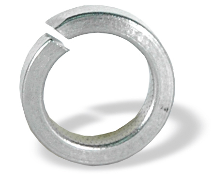 #10 Plain 18-8 Stainless Steel Split Lock Washer - Pack of 500