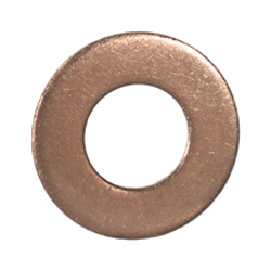 1/2 Inch x 7/8 Inch x 1/16 Inch Copper Sealing Washer