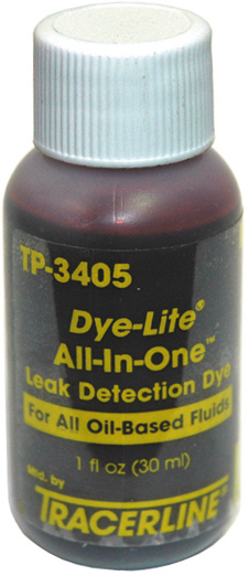 6-Pack Dye-Lite All-In-One Oil Dye -Billable Dose Rtu (1 Ounce)