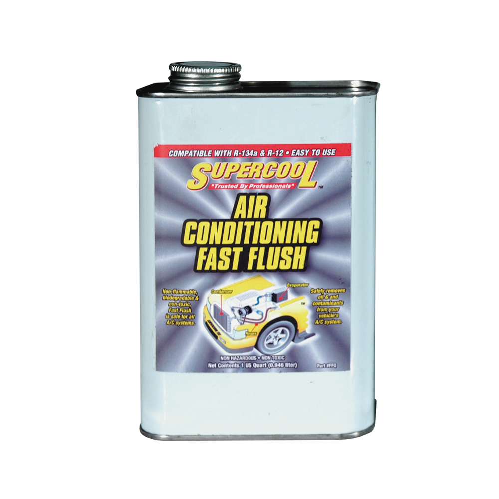 AC Air Conditioning Fast Flush Solvent Cleaner - 32 oz