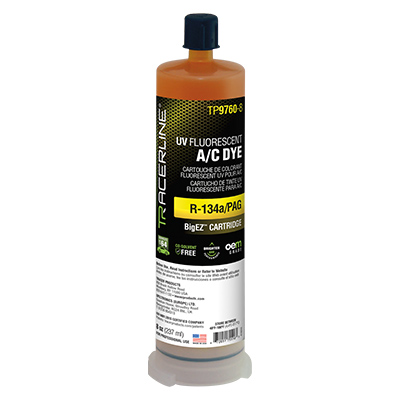 BigEZ™ A/C Dye for R134a/PAG - 8 oz