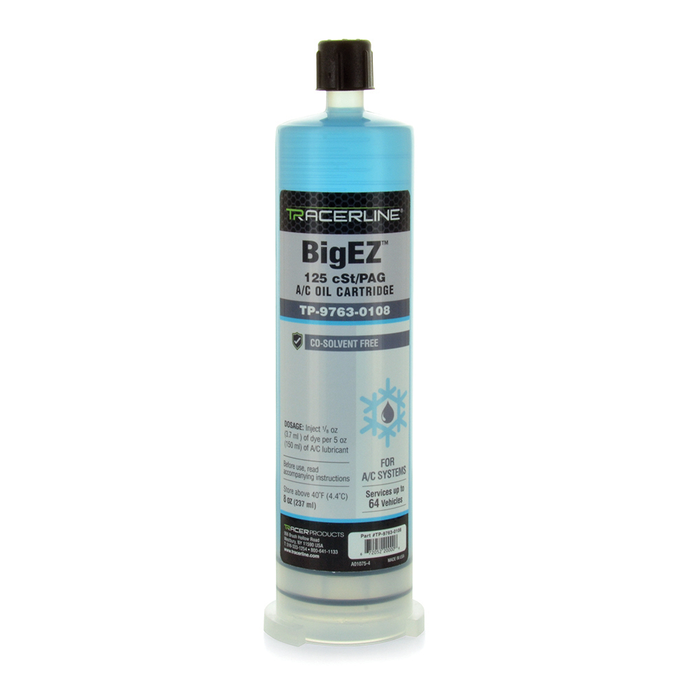 Big-Ez PAG Oil 125 Viscosity 8 Ounce