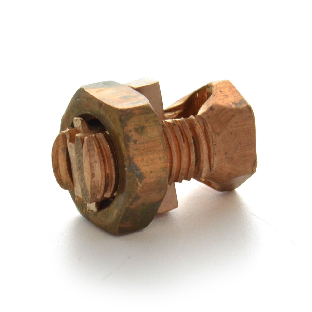 Copper Split Bolt Ik-10 Head Marking