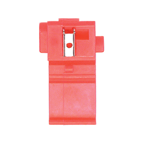 Economy Scotchlock Type Self Stripping Connector #558 Red