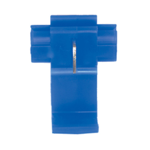 Economy Scotchlock Type Self Stripping Connector Blue