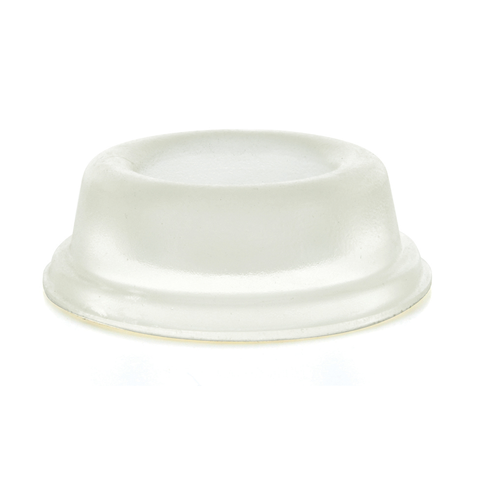 1.810 Inch x .600 Inch Circular Recessed Self-Adhesive Bumper Stop Clear