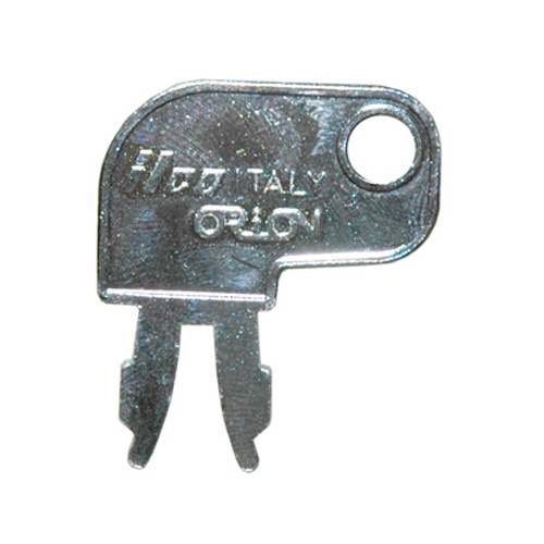 Caterpillar 944/955 2-Prong Ignition Heavy Equipment Key Blank