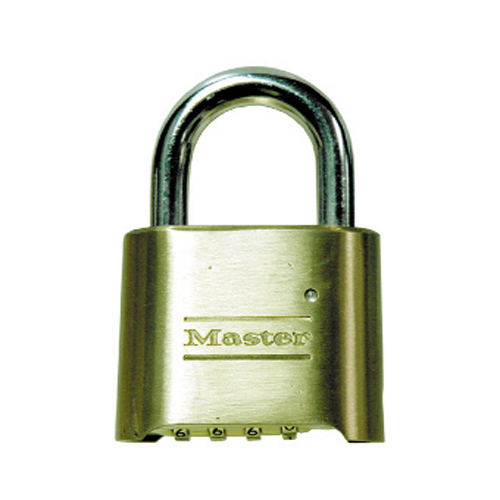 Combination Padlock With Re-Settable Code