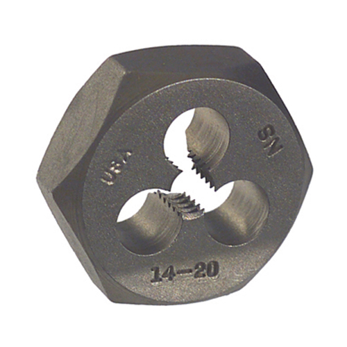 #10-24 Bright High Carbon Steel Type 405 Hex Die