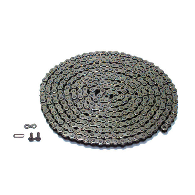 #35 x 10 ft 3/8 Inch Pitch Single Strand Solid Roller Chain