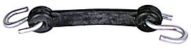 14 Inch Tarp Strap With S-Hooks