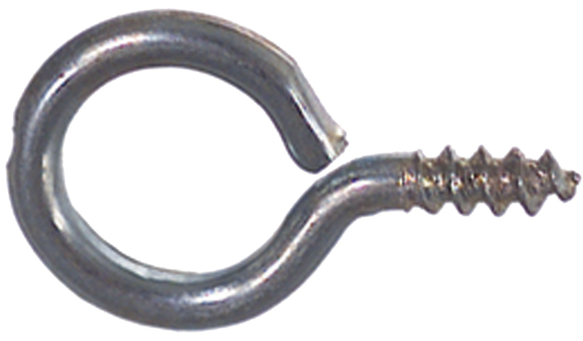 1-1/32 Inch Zinc Plated 1010 Carbon Steel Large Eye Bolt