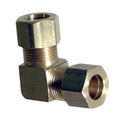 1/2 Inch 90 Degree Union Elbow Brass Compression Tube Fitting