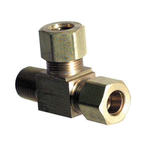 1/16 Inch x 1/4 Inch Brass Male Connector D.O.T. Air Brake Fitting