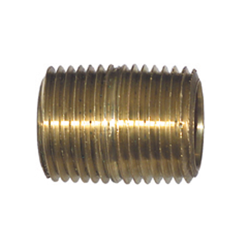 1 Inch Brass Pipe Close Nipple