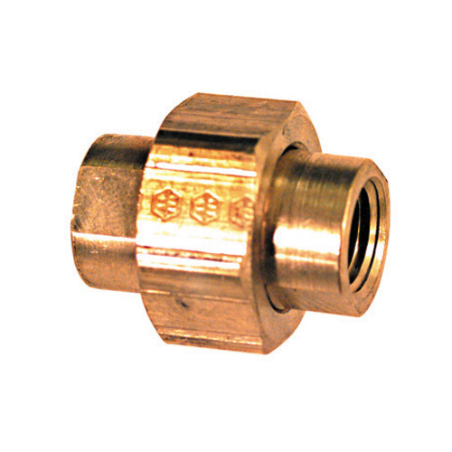 1 Brass Pipe Threaded Union