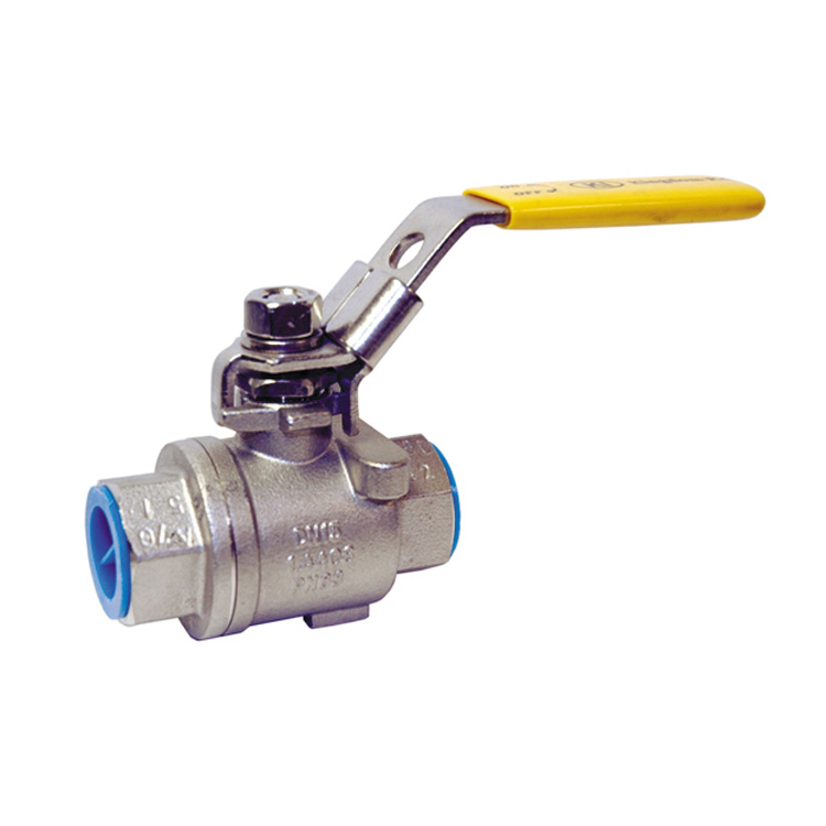 1 316 Stainless Steel Ball Valve 2-Piece Body