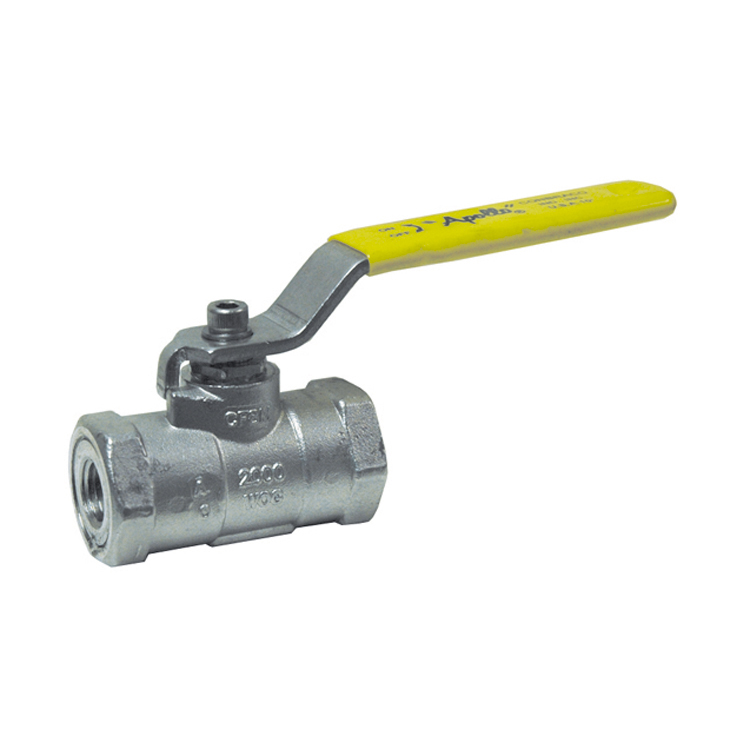 1 Inch Fnpt 2000 Psig Cwp 150 Psig Saturated Steam A351-Cf8M Stainless Steel 96-100 Series Compact Uni-Body Ball Valve