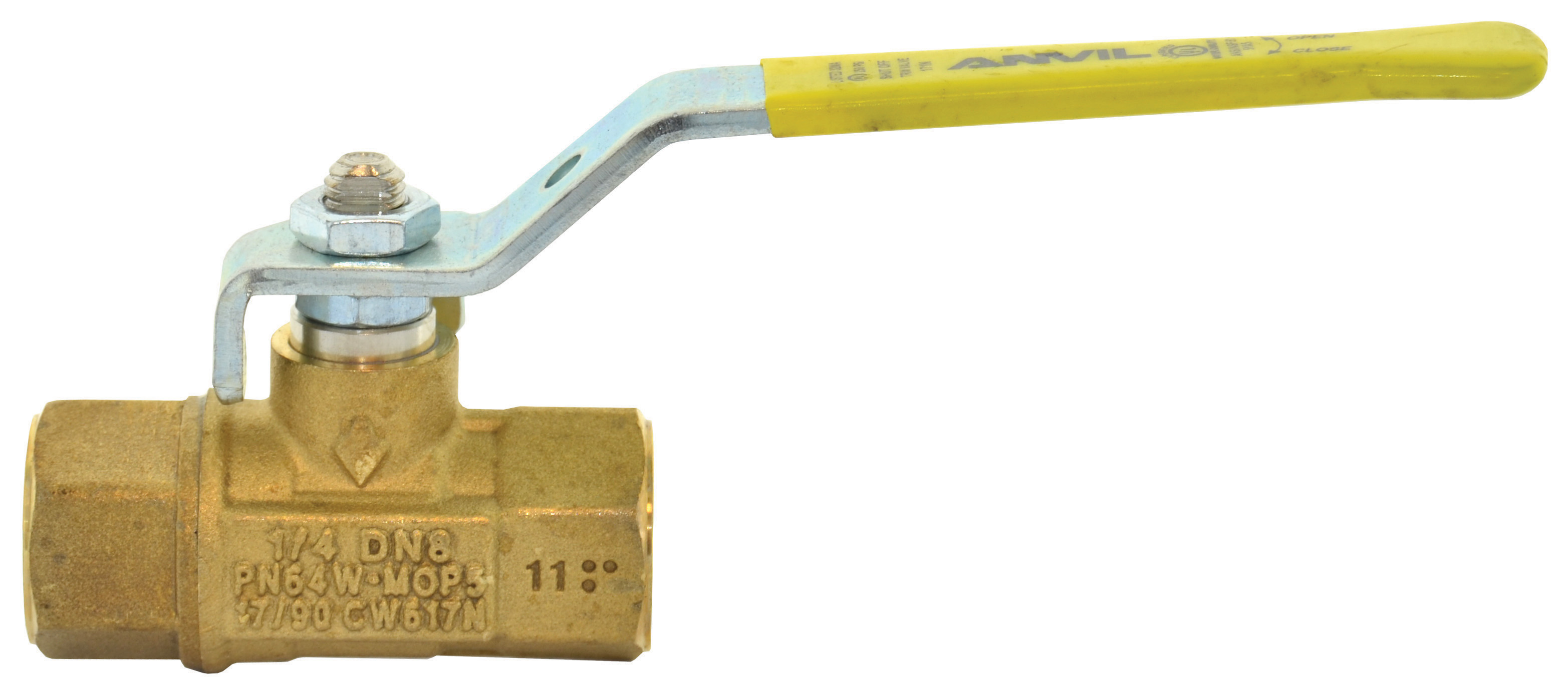 1 Inch Ball Valve With Two Piece Body Premium Forged Brass