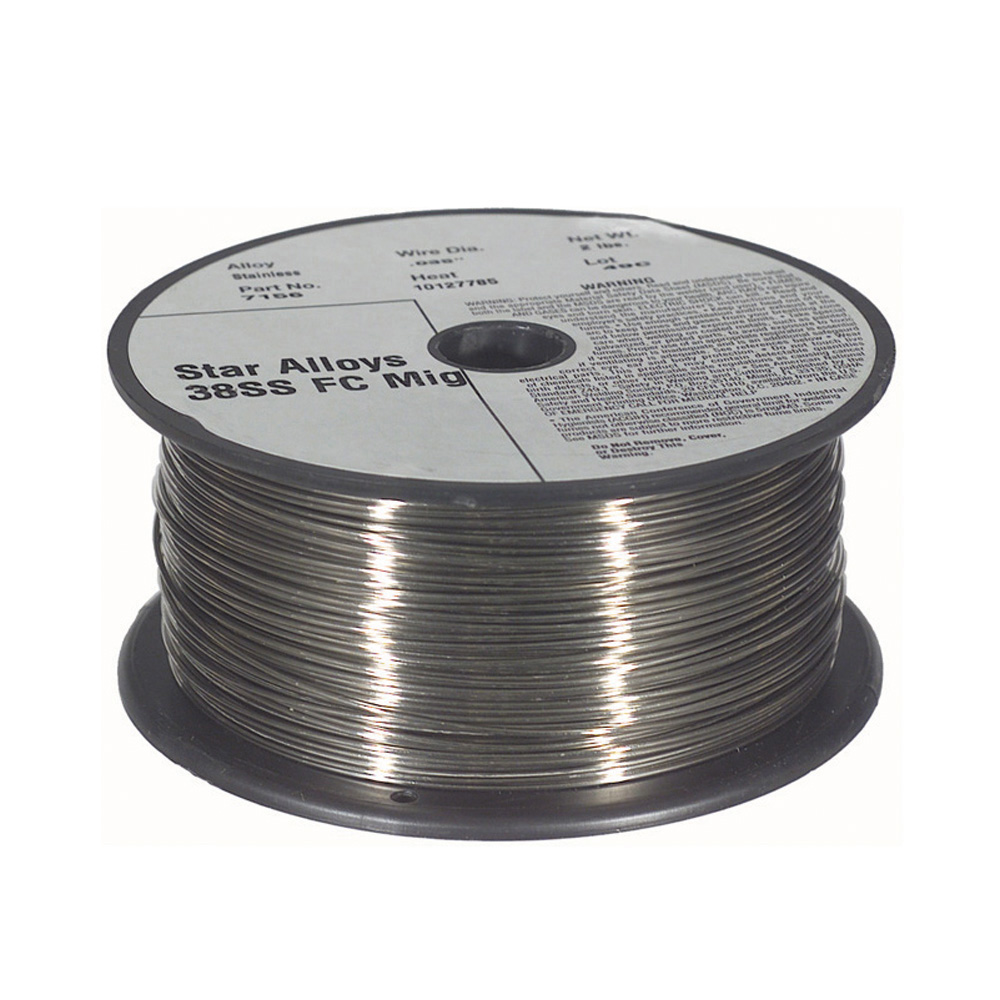 .023 Inch 38Ss Stainless Steel Solid Mig Wire 10 Lb Spool