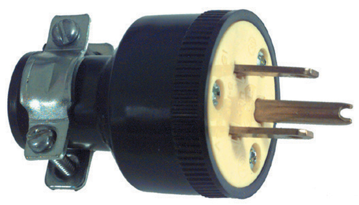 3-Wire Standard Duty Plug Male