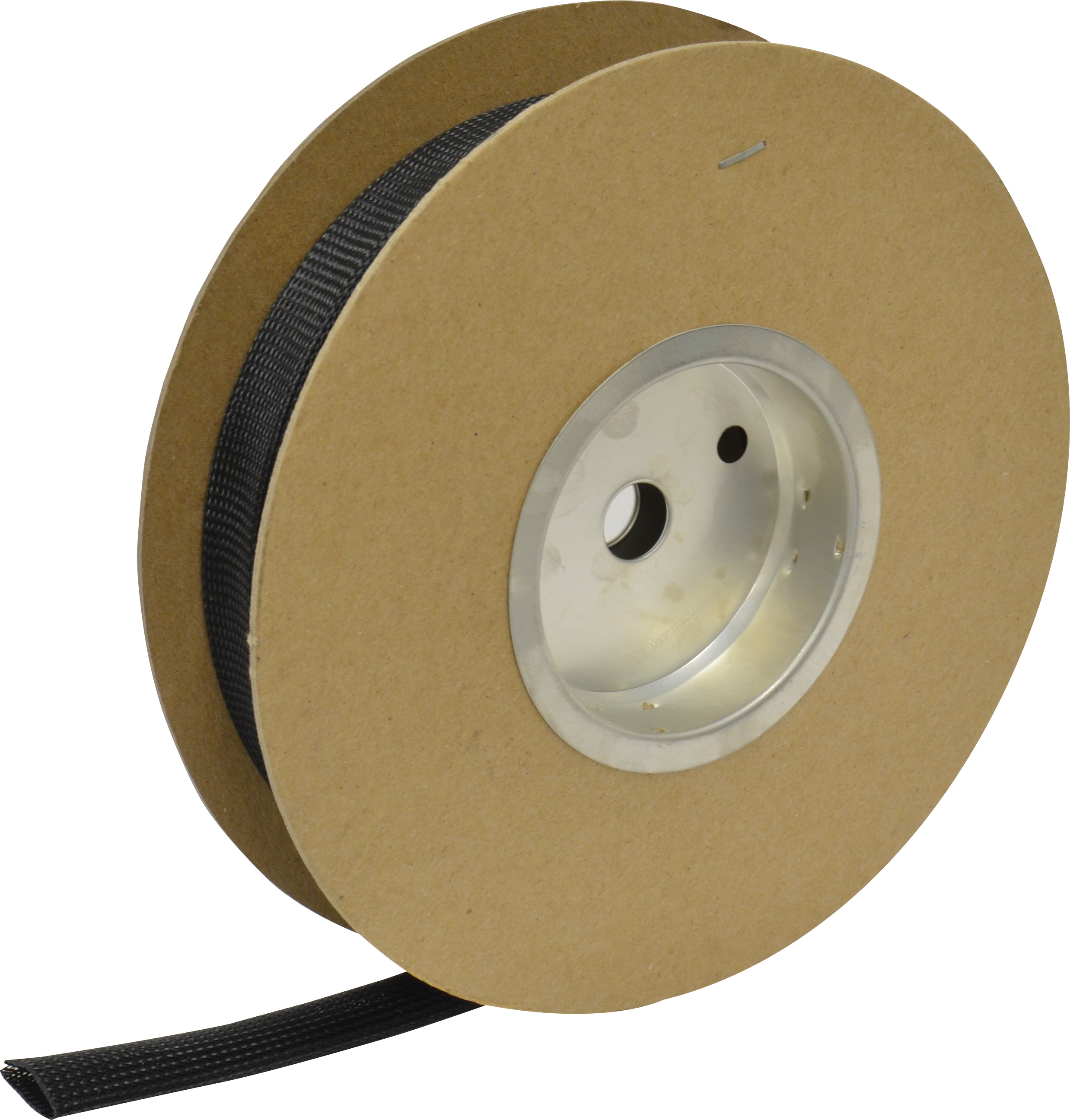1 Inch Black Fray Resistant Expandable Electrical Sleeving - 100 Foot Roll