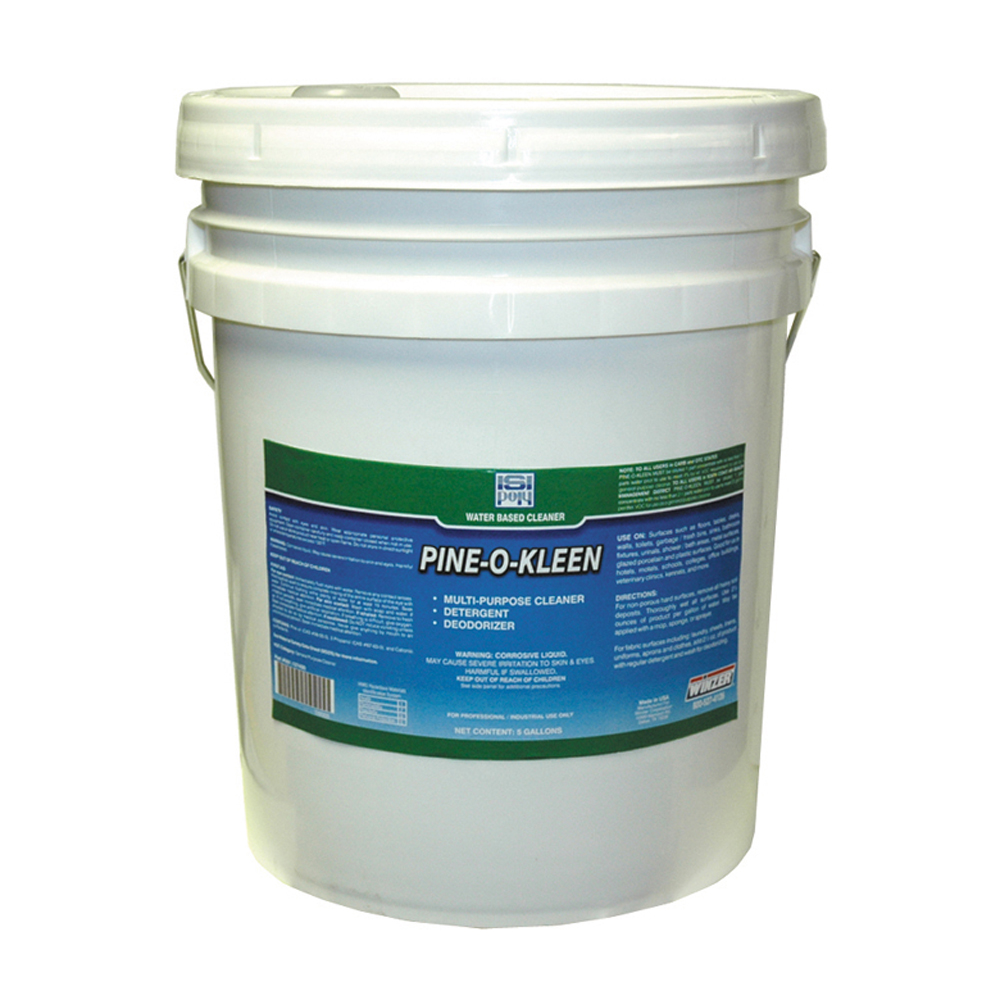 Isi-Poly Pine O Kleen Water Based Cleaner - 5 Gallons
