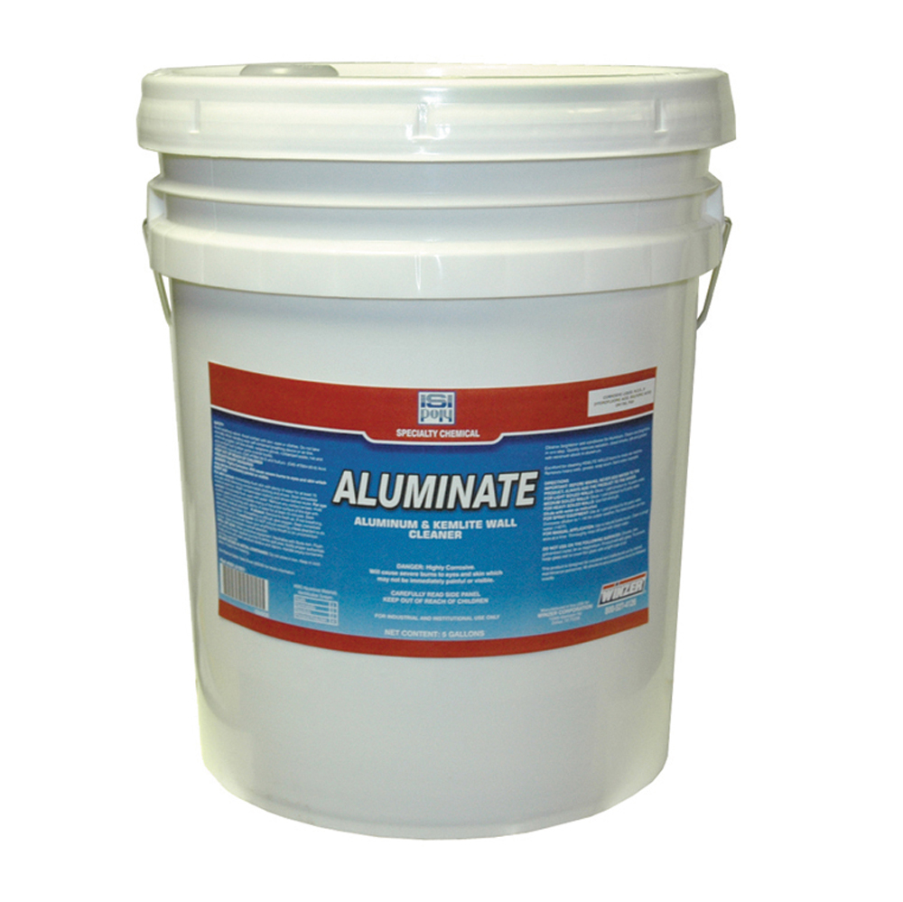 4 x 1 Gallon Isi Poly Aluminate Aluminum Brightener
