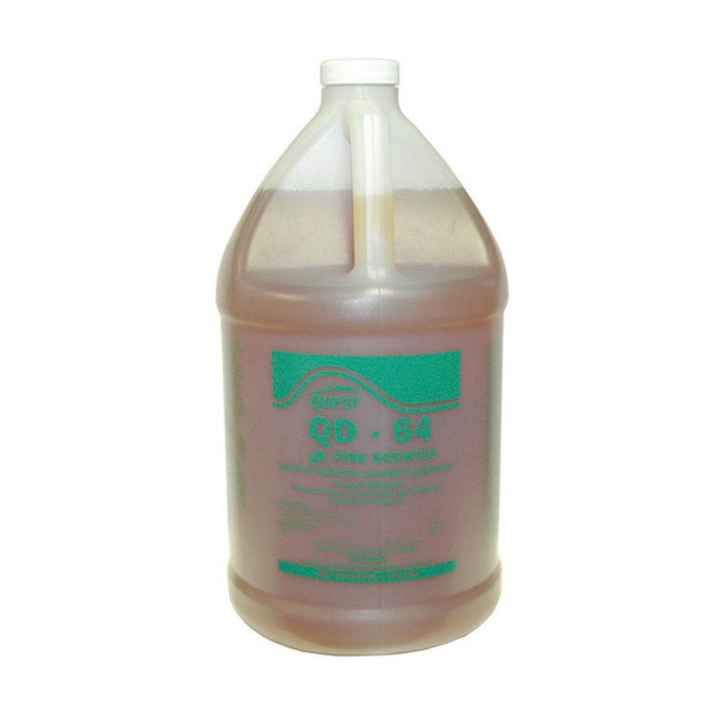 Qd-64 Disinfectant, Deodorant and Cleaner Pine - 5 Gallons
