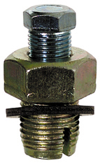 1/2-20 x 3/4 Inch Yellow Zinc Plated Steel Oil Drain Plug With Gasket