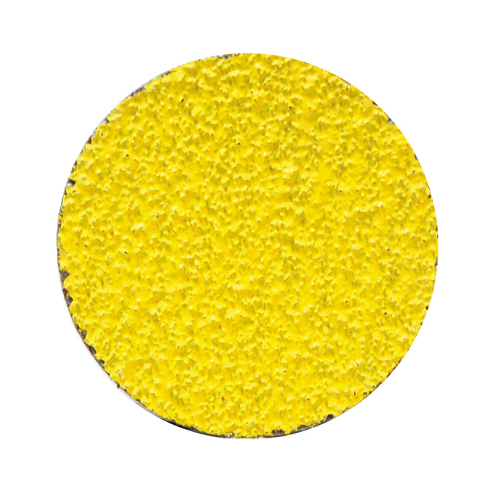 2 Inch Predator Quick-Lok Disc 120 Grit Grain Mixture Yellow