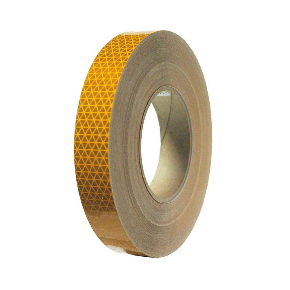 1 Inch x 150 Foot Reflexite D.O.T. Conspicuity Reflective Tape School Bus Yellow