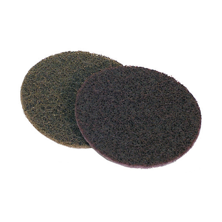 3M 5 Inch x Nh Surface Conditioning Disc Very Fine Grit Blue Aluminum Oxide Pack of 10