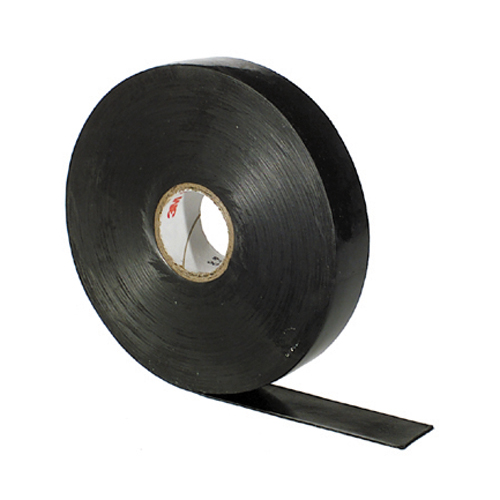 1 Inch x 30 ft Black Self-Fusing Ethylene Propylene Rubber Scotch Linerless Rubber Splicing Tape