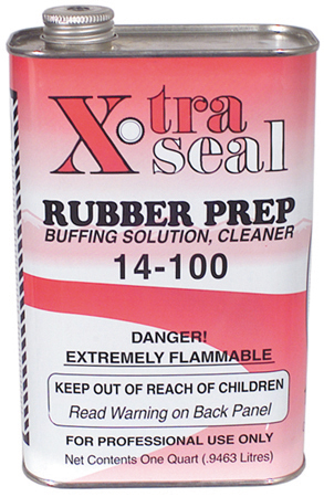 1 Qt Xtra Seal Rubber Prep Buffing Solution / Cleaner