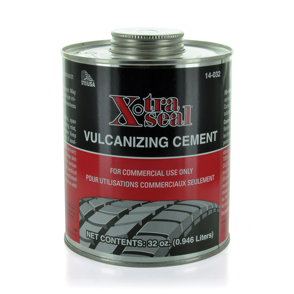 1 Qt X-Tra Seal Chemical Vulcanizing Cement Flammable