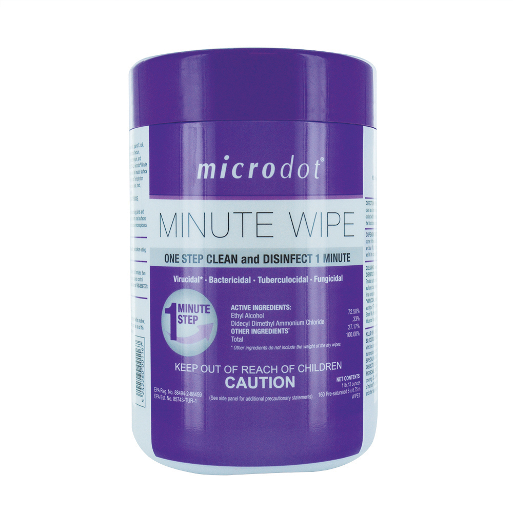 Microdot Minute Wipe