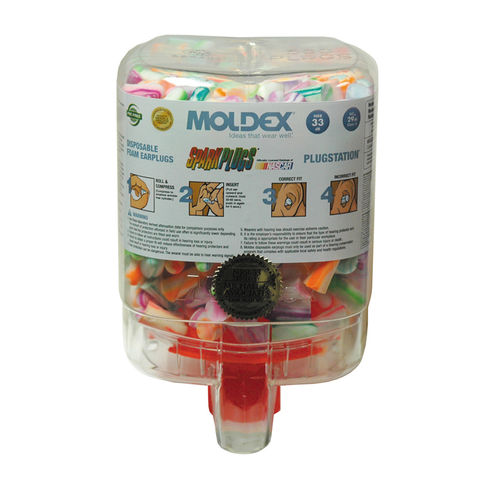 Ear Plug Container Station With 250 Pairs