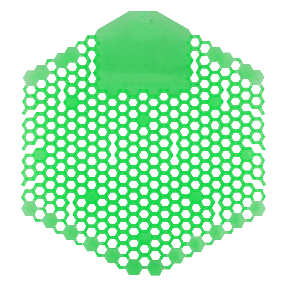 Fresh Products Wave 3D Urinal Screen - Herbal Mint - Light Green