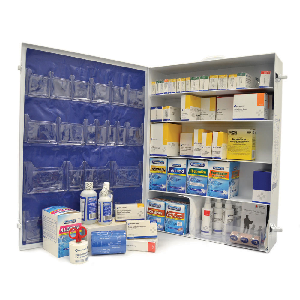 First-Aid Station 5-Shelf Unit 200 Person