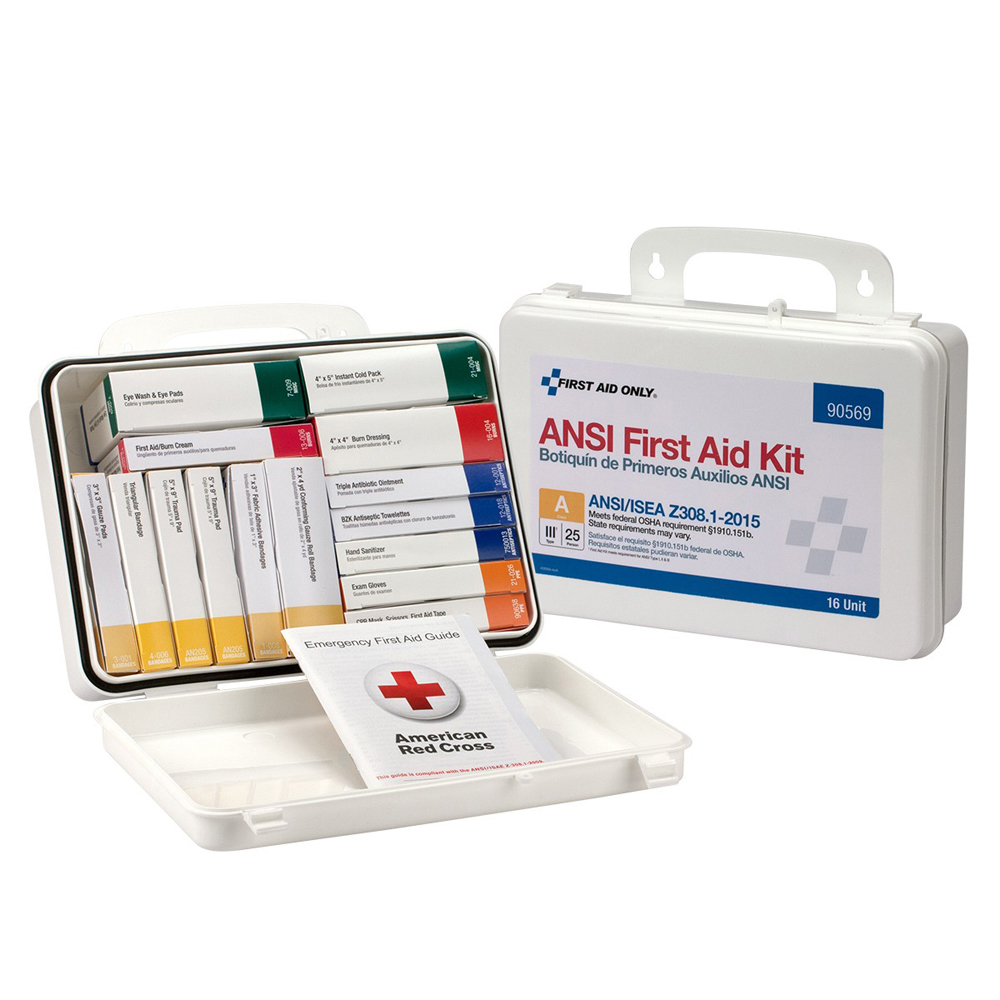 FS First Aid Kit 25 Person Unit